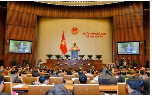 Quốc hội đã họp phiên bế mạc sáng 21/6.