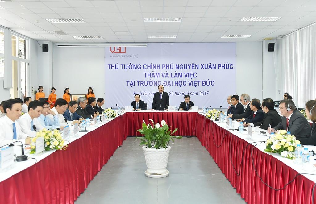 Thủ tướng mong muốn đưa kỹ nghệ bậc cao của Đức vào Việt Nam - ảnh 1
