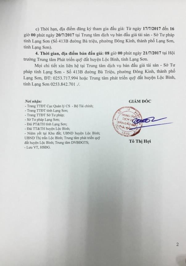 Đấu giá quyền sử dụng đất tại TP.Lạng Sơn, Lạng Sơn - ảnh 2