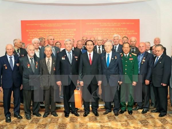 Chủ tịch nước bắt đầu chuyến thăm chính thức Belarus - ảnh 1