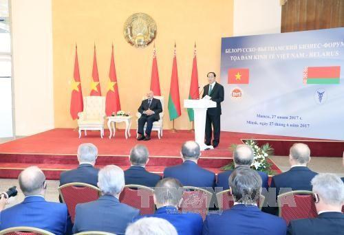 Mở liên doanh sản xuất ô tô, máy kéo Minsk tại Việt Nam