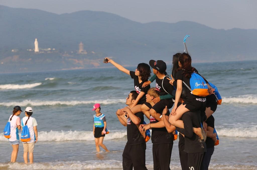 6 tháng đầu năm nay, lượng, du khách đến Đà Nẵng tăng 33% so với cùng kỳ năm 2016. Ảnh: VGP