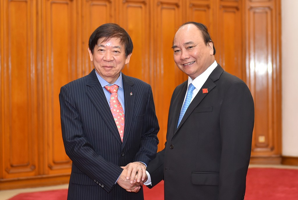 Tổng Bí thư, Thủ tướng tiếp Đoàn cấp cao Đảng Hành động Nhân dân Singapore cầm quyền - ảnh 1