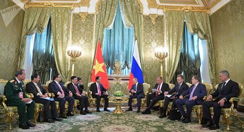 Xung lực mới thúc đẩy hợp tác toàn diện Việt Nam và LB Nga - ảnh 1
