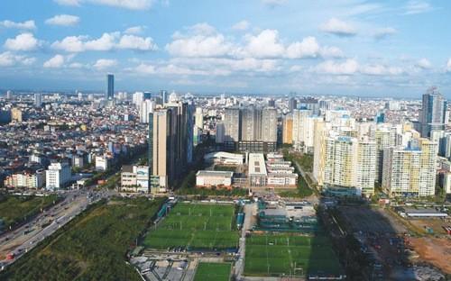 Thị trường bất động sản Hà Nội trong quý 2/2017 không có quá nhiều thay đổi về mức giá trung bình so với quý trước cả trên thị trường sơ cấp và thứ cấp.