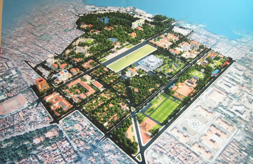 Ban hành quy định quản lý quy hoạch chi tiết Khu trung tâm chính trị Ba Đình