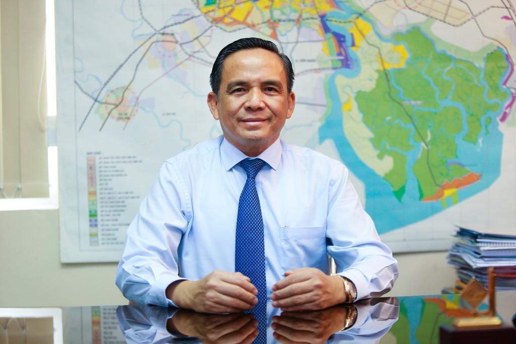 Ông Lê Hoàng Châu, Chủ tịch HoREA - Luật Thuế tài sản sẽ giúp thị trường bất động sản phát triển lành mạnh.
