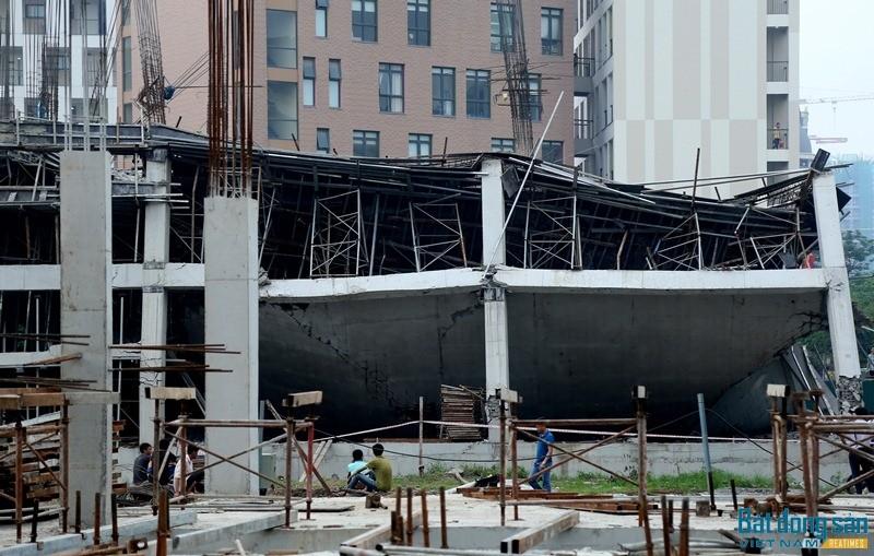 Nguyên nhân công trình trường mầm non tại KĐT Sudico Sông Đà đổ sập - ảnh 1