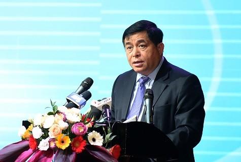 Bộ trưởng Bộ Kế hoạch và Đầu tư Nguyễn Chí Dũng. Ảnh: VGP