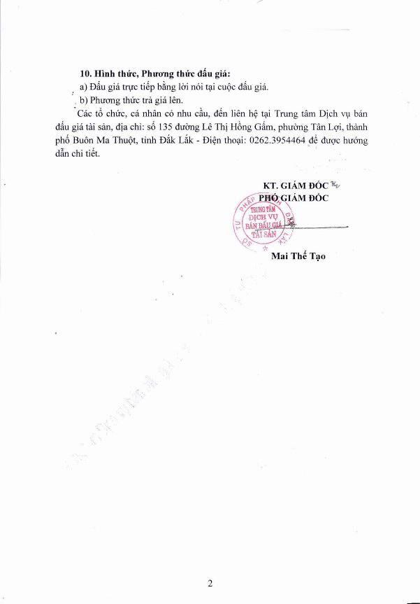 Đấu giá phế liệu thu hồi trụ sở tại TP.Buôn Ma Thuột, Đắk Lắk - ảnh 2