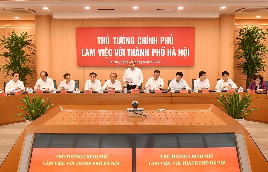 Thủ tướng: Tìm những câu, những ý 'đắt nhất' khuyến nghị cho Hà Nội - ảnh 1