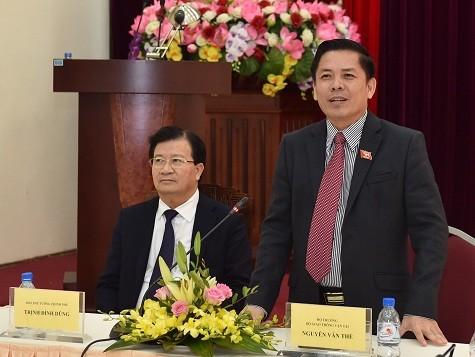 Phó Thủ tướng nêu hàng loạt nhiệm vụ 'nóng' với tân Bộ trưởng GTVT - ảnh 1