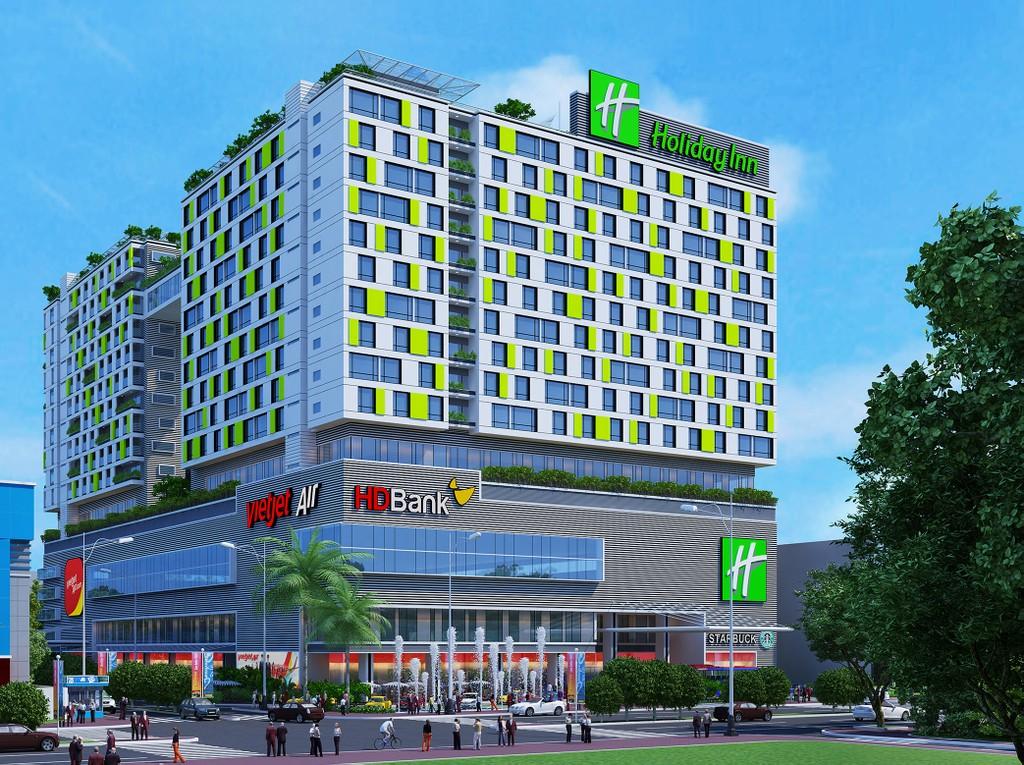 Cất nóc tổ hợp Republic Plaza, bao gồm khách sạn 5 sao Holiday Inn & Suites, - ảnh 1