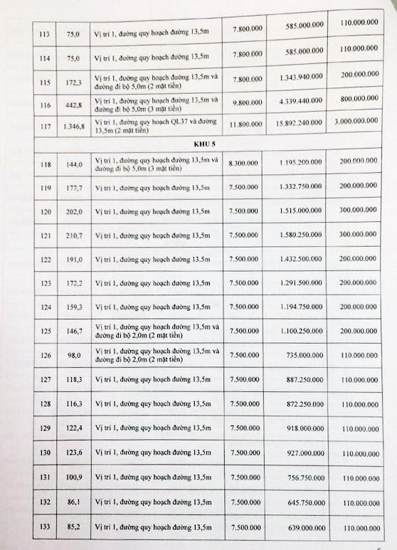 Đấu giá quyền sử dụng đất tại huyện Phù Yên, Sơn La - ảnh 6