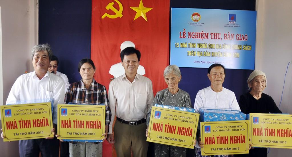 BSR hỗ trợ 14,33 tỷ đồng cho Chương trình an sinh xã hội tỉnh Quảng Ngãi. - ảnh 2