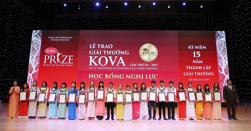 Giải thưởng KOVA lần thứ 15: Trao cho 17 tập thể, cá nhân và 118 sinh viên tiêu biểu - ảnh 1