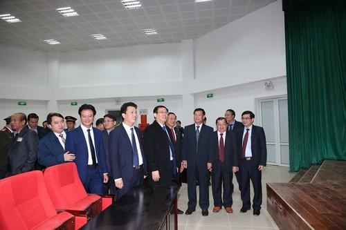 Khánh thành nhà liên hợp cửa khẩu quốc tế Cầu Treo (Hà Tĩnh) - ảnh 1
