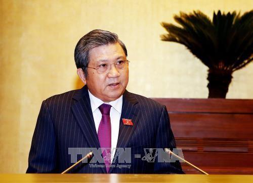 Chủ nhiệm Uỷ ban Đối ngoại của Quốc hội Nguyễn Văn Giàu. Ảnh: TTXVN