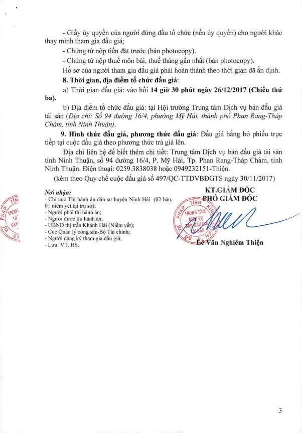 Đấu giá quyền sử dụng đất tại huyện Ninh Hải, Ninh Thuận - ảnh 3