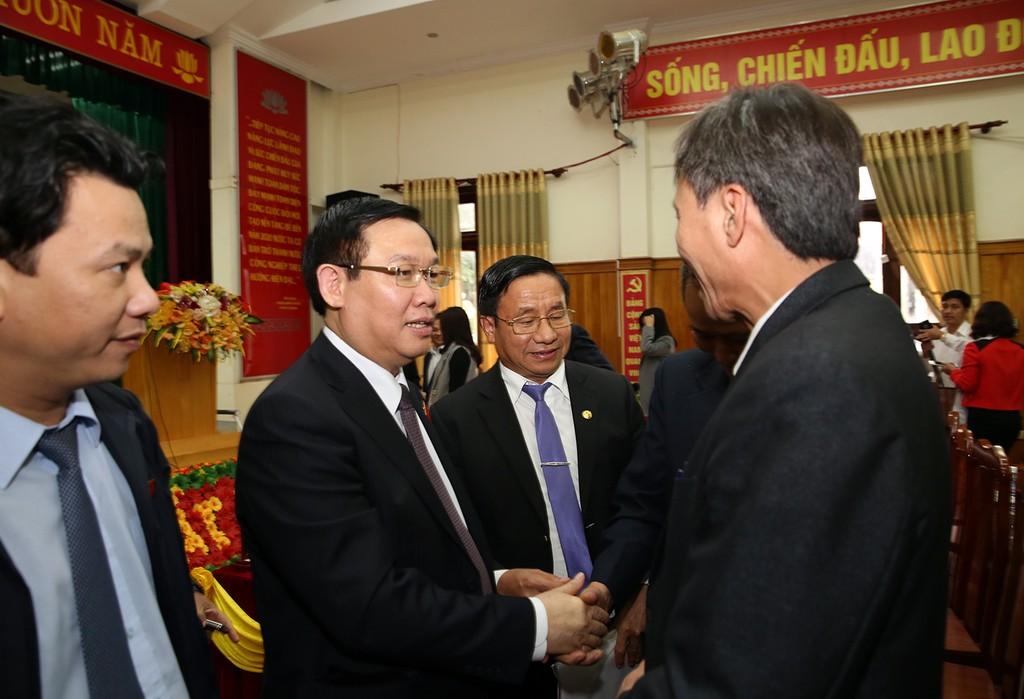 Phó Thủ tướng Vương Đình Huệ tiếp xúc cử tri tại Đức Thọ - ảnh 1