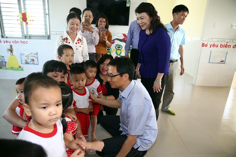 Phó Thủ tướng khảo sát một số nhóm, lớp mầm non ở Đồng Nai - ảnh 2