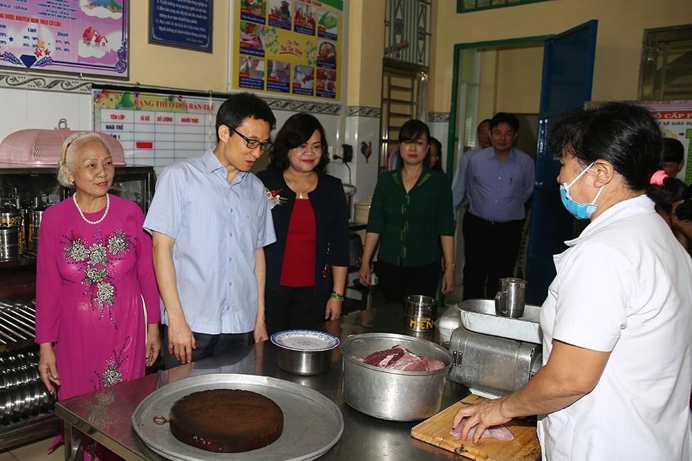 Phó Thủ tướng khảo sát một số nhóm, lớp mầm non ở Đồng Nai - ảnh 5