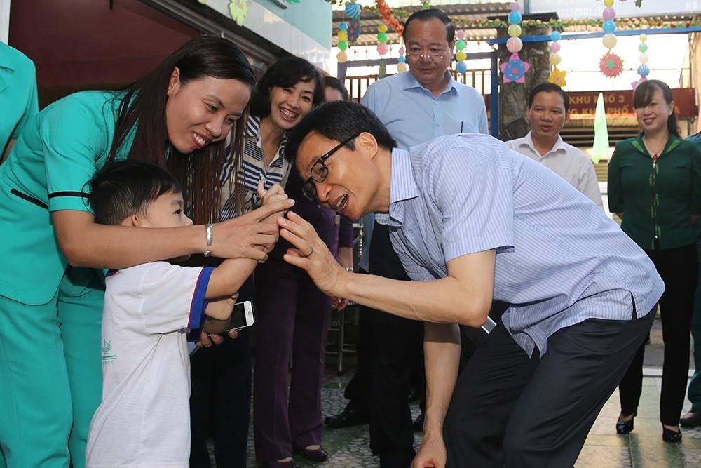 Phó Thủ tướng khảo sát một số nhóm, lớp mầm non ở Đồng Nai - ảnh 7
