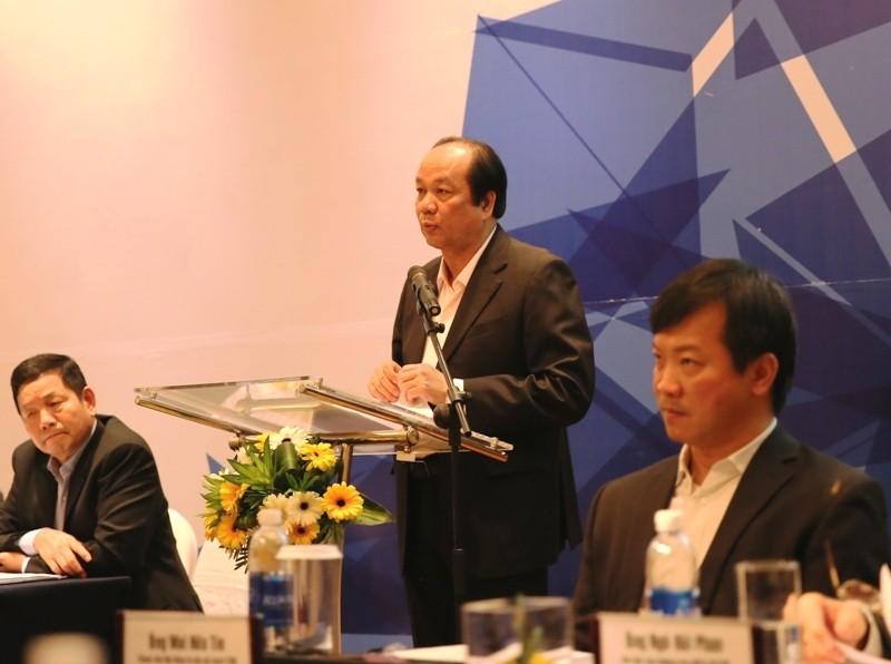 Bộ trưởng, Chủ nhiệm VPCP Mai Tiến Dũng phát biểu khai mạc Hội nghị. Ảnh: VGP