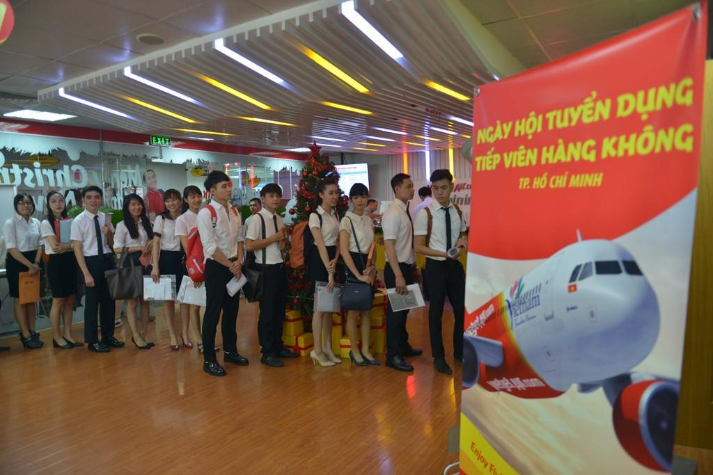 Cơ hội trở thành tiếp viên hàng không cùng Vietjet