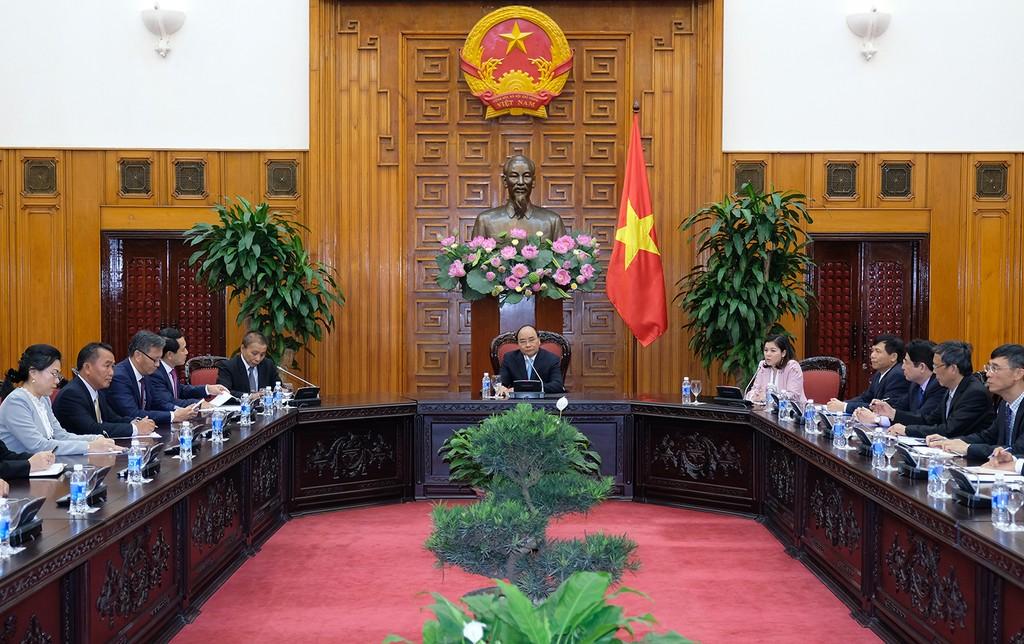 Thủ tướng Nguyễn Xuân Phúc tiếp Bộ trưởng Ngoại giao Lào - ảnh 1