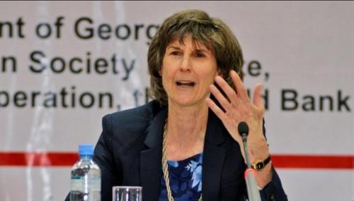 Phó Chủ tịch Ngân hàng Thế giới về Phát triển bền vững Laura Tuck. Ảnh: World Bank Group
