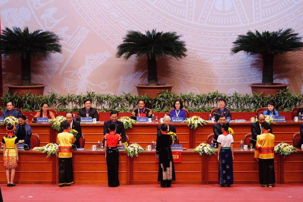 Khai mạc trọng thể Đại hội Đoàn toàn quốc lần thứ XI - ảnh 1