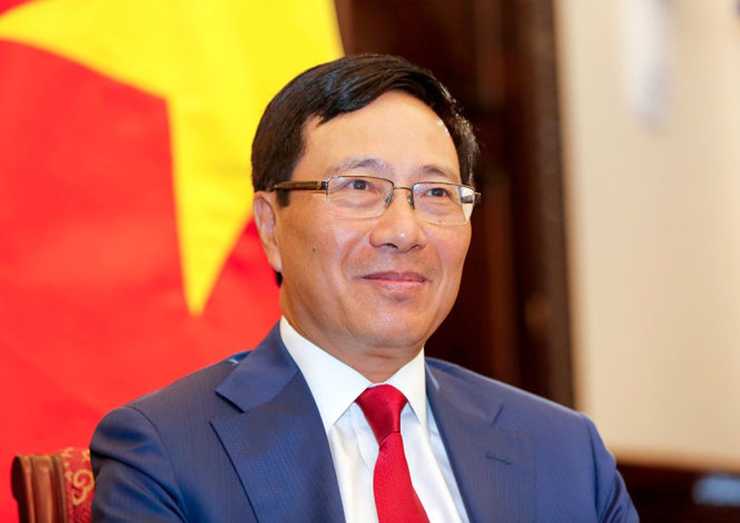 Phó Thủ tướng, Bộ trưởng Ngoại giao Phạm Bình Minh. Ảnh Internet