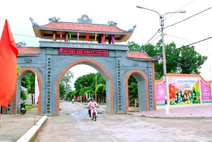 Xã Yên Bình (thành phố Tam Điệp) đã đạt chuẩn nông thôn mới