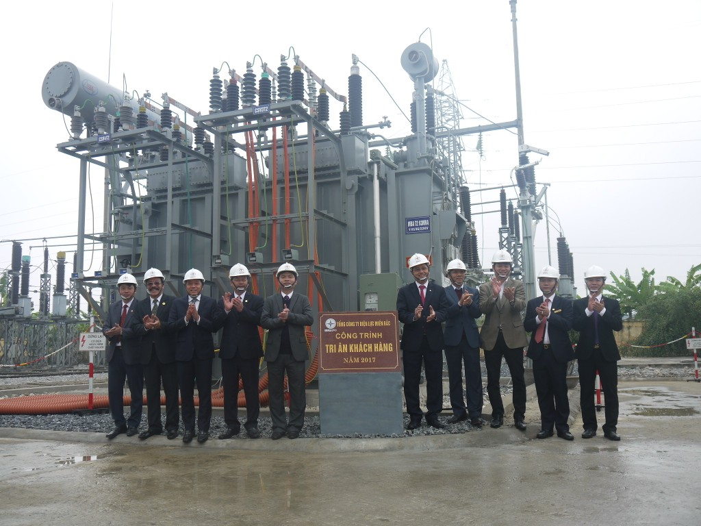 Nâng công suất cấp điện cho KCN Châu Sơn và vùng phụ cận