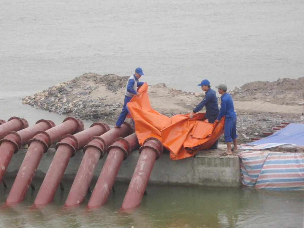 Bên cạnh nhiều thành tựu, ngành thủy lợi cũng còn hạn chế trong quản lý tổng hợp nguồn nước - Ảnh: VGP