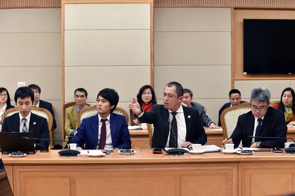 Bộ trưởng Mai Tiến Dũng đối thoại với Hiệp hội các doanh nghiệp Nhật Bản - ảnh 1