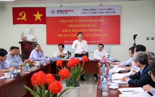 Đẩy nhanh tiến độ xây dựng trung tâm điện lực lớn nhất Việt Nam - ảnh 1