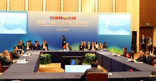 Quang cảnh lễ khai mạc Hội nghị Bộ trưởng Ngoại giao Mekong-Lan Thương lần thứ 3. Ảnh: VGP