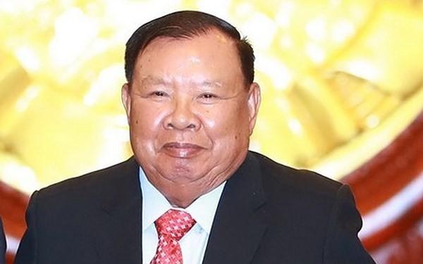 Tổng Bí thư, Chủ tịch nước Lào Bounnhang Vorachith. Ảnh Internet