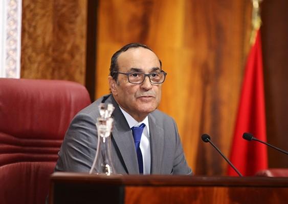 Chủ tịch Hạ viện Habib El Malki . Ảnh Internet