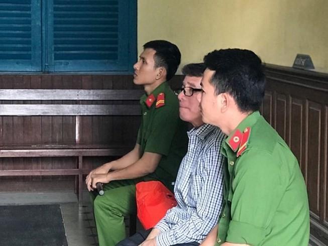 Bị cáo Bửu tại phiên tòa phúc thẩm.
