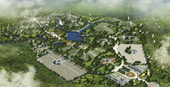 Dự án siêu nghĩa trang tại Ba Vì (Ảnh minh họa).
