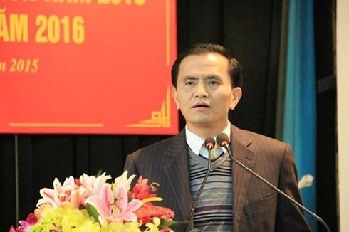 Phó chủ tịch Thanh Hóa Ngô Văn Tuấn