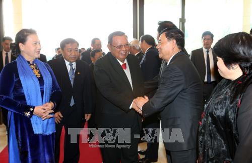 Việt Nam, Lào tăng cường hợp tác giữa các cơ quan lập pháp - ảnh 1