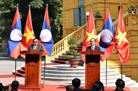 Chủ tịch nước hội kiến Tổng Bí thư, Chủ tịch nước Lào - ảnh 2