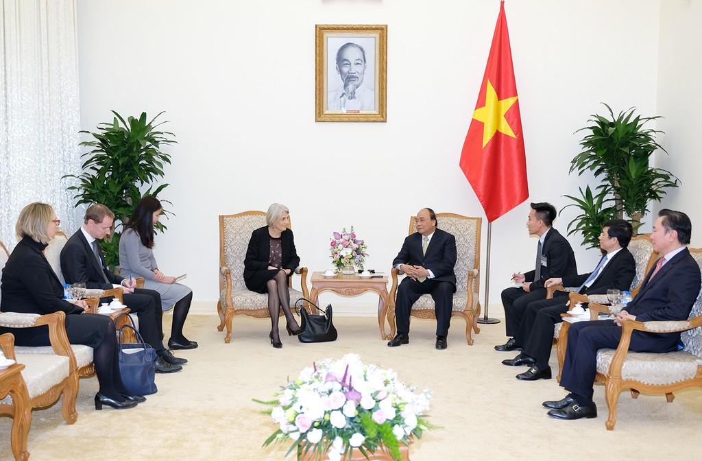 Thủ tướng Nguyễn Xuân Phúc tiếp Đại sứ Đan Mạch - ảnh 1