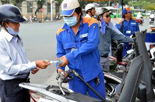 Giá xăng dầu giữ nguyên trong kỳ điều hành cuối cùng năm 2017