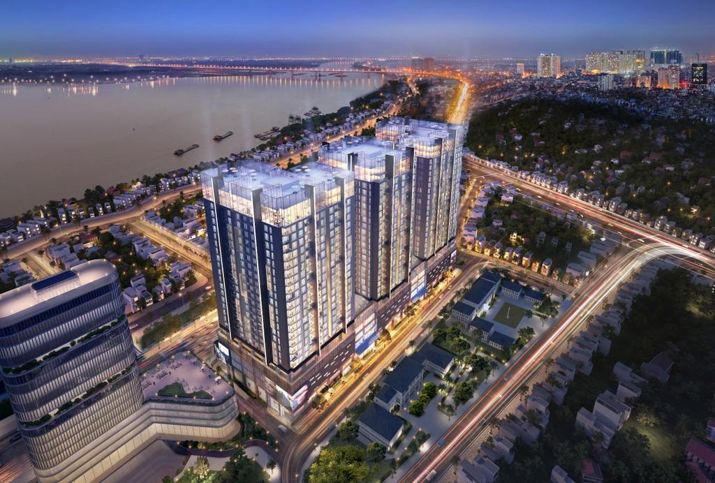 Toàn cảnh căn hộ cao cấp Sun Grand City Ancora Residence - Sun Group