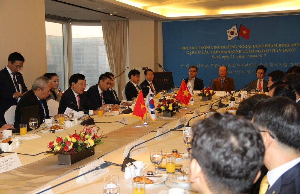 Việt Nam tiếp tục tạo điều kiện để DN Hàn Quốc đầu tư hiệu quả - ảnh 1